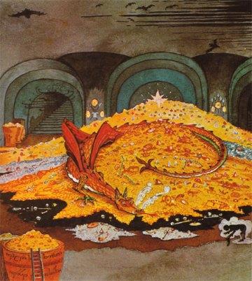 Smaug par Tolkien